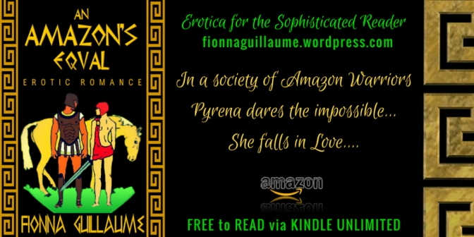 An Amazon's Equal By Fionna Guillaume #InLust #Fantasy #Erotic