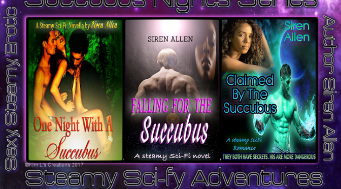 Fall In Love With A Succubus. #SciFiRomance #SuccubusNights #SFRB #Giveaway