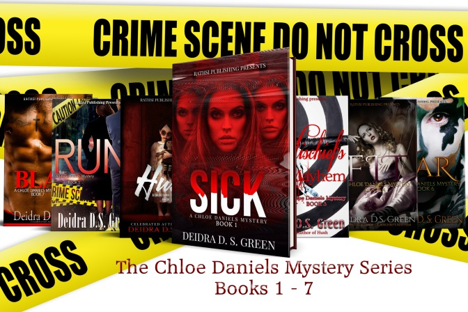 #BeautifulVillains presents: Anna Black from the Chloe Daniel's Mysteries series by Deidra D.S. Green.