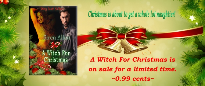 New Release: A Witch For Christmas. #MerryChristmas #PNR #BwwmBooks